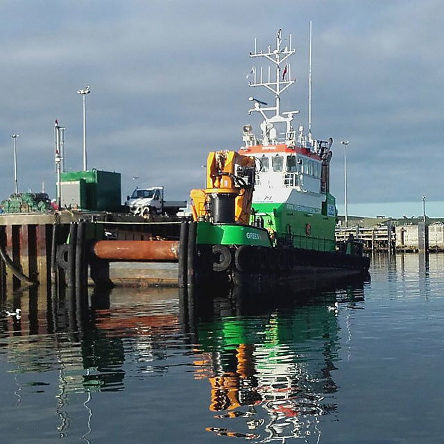 <p>Green Marine vessel Green Isle<br></p>