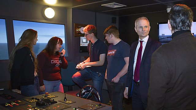<p>David Lidington Visit<br></p>