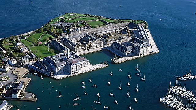 <p>Royal William Yard aerial</p>