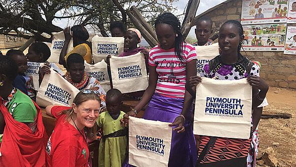 <p>MSc Global Health - Alice Inman in Kenya.</p>