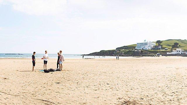 <p>Bigbury Beach</p>