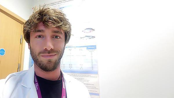 <p>Craig Cutler PhD student Dietetics</p>