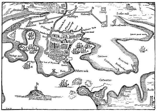 <p>Plymouth under Seige - 17th Century Plymouth at War</p>
