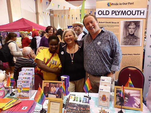 Alan Butler at Totnes Pride 2017