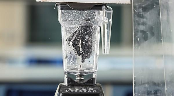 Scientists use a blender to reveal what's in our smartphones