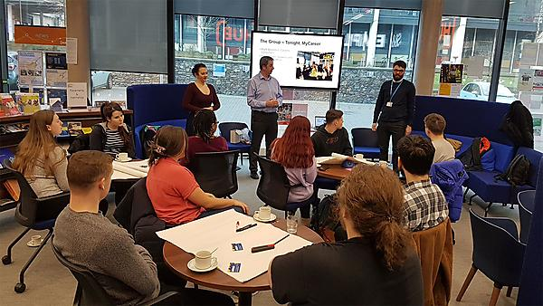 <p>Careers focus group session four 2019</p>
