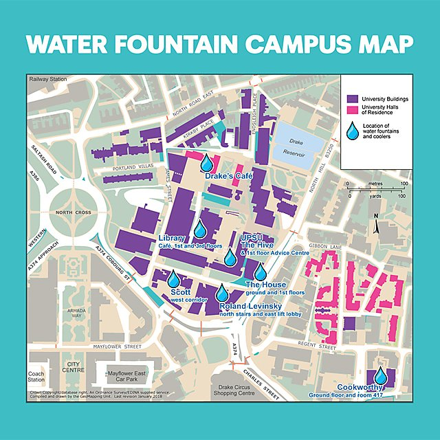 <p>Water fountain campus map for montage</p>