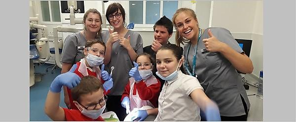Students help children and families overcome fear of the dentist