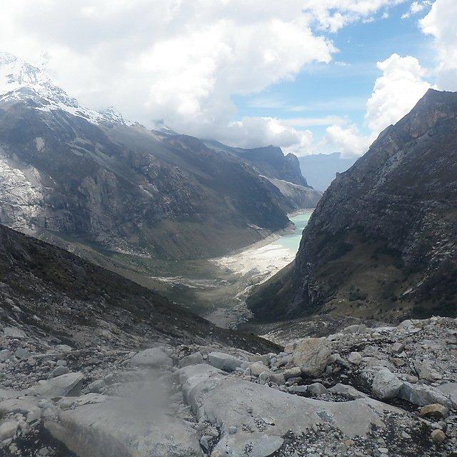 <p>Glaciers in Peru</p>