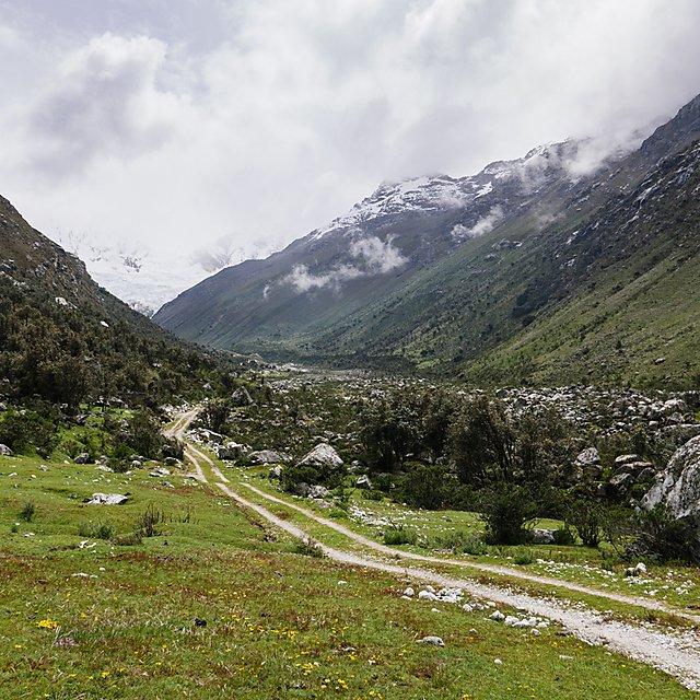 <p>  Glaciers in Peru  <br></p>