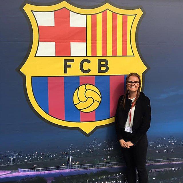 <p>Ella Croft FC Barcelona</p>