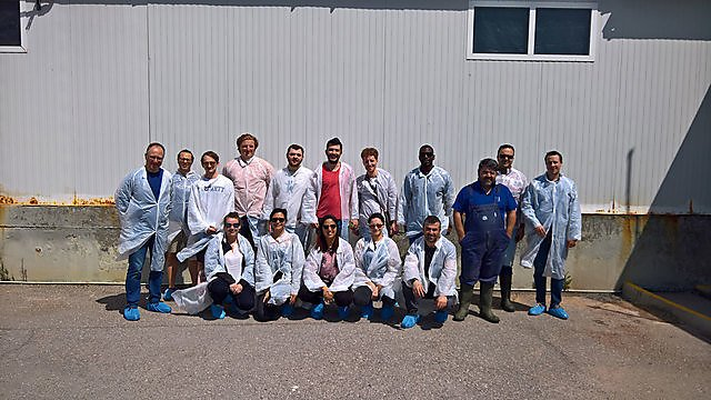 <p>Sustainable Aquaculture Systems field trip</p>