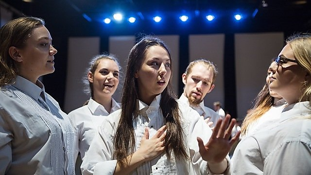 <p>Plymouth Conservatoire - Acting&nbsp;</p>