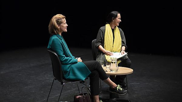 Darcey Bussell and Ruth Way