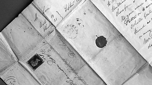 <p>Getty. wax seal letter. history</p>