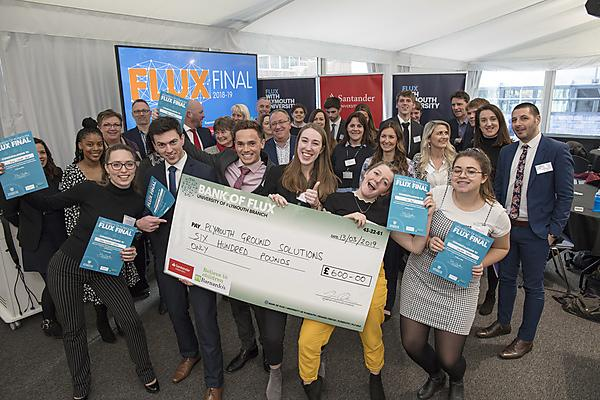 Geology students crowned University of Plymouth FLUX 2019 champions