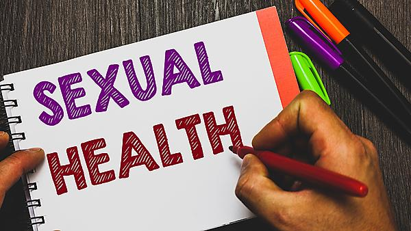 <p>Conceptual hand writing showing Sexual Health. Image courtesy of Getty.<br></p>