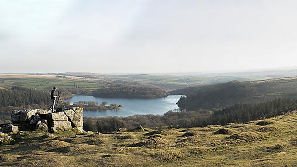 <p>View of Burrator reservoir Clearing 2019 campaign</p>