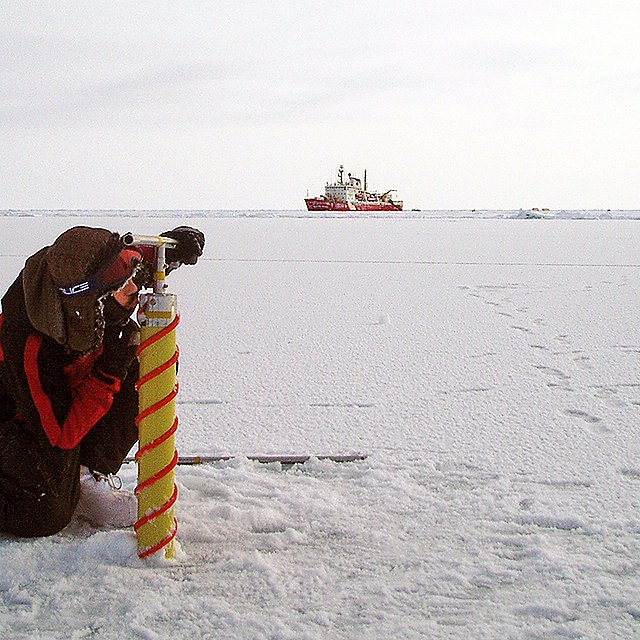 <p>Researchers in the arctic<br></p>