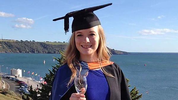 Ellie Vaughan - BSc (Hons) Marine Biology; MRes Marine Biology graduate