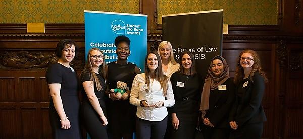 <p>Plymouth Law Clinic wins the Access to Justice Foundation Award in the LawWorks and Attorney General Student Pro Bono Awards 2019