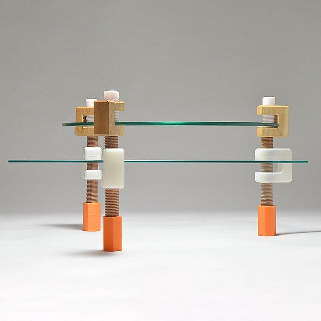 <p>Designer Maker Chesney Wilkes 3D printed furniture<br></p>