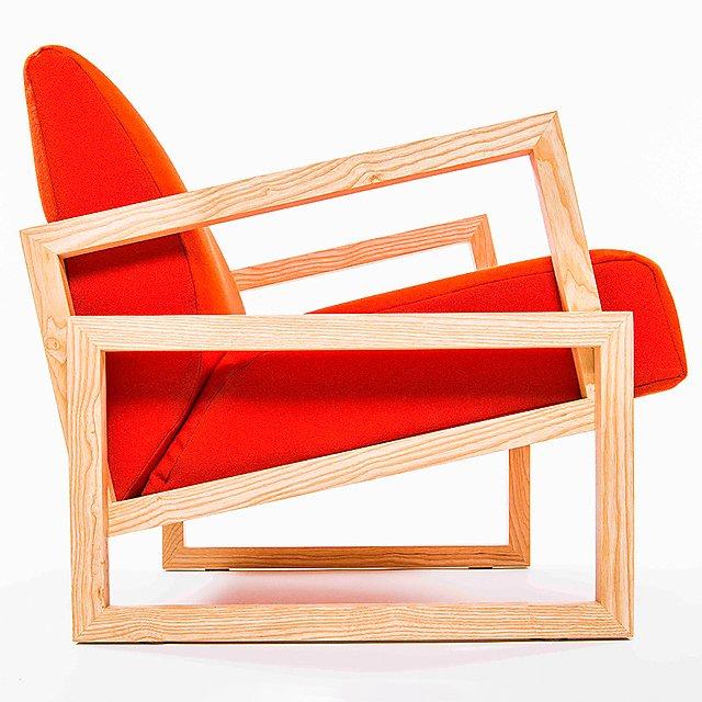 <p>Designer Maker Joshua Milton armchair 1, Felder 2nd prize<br></p>