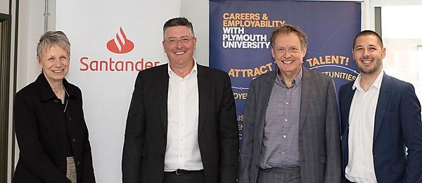 More students to benefit as Santander Universities partnership renewed