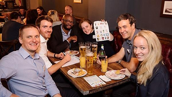 <p>London Alumni Network quiz night</p>