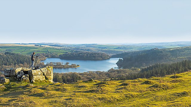 <p>View of Burrator reservoir Clearing 2019 campaign<br></p>