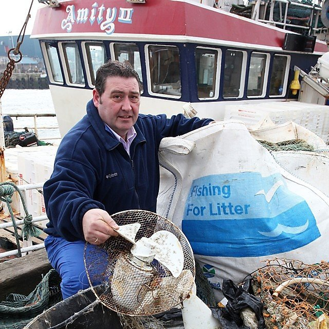 <p>Fishing for Litter</p>