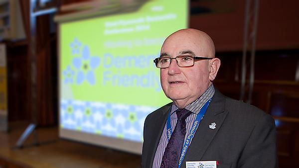 <p>Ian Sherriff dementia champion</p>