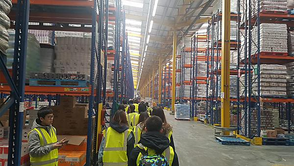 <p>Morrisons shipping field trip 2018</p>