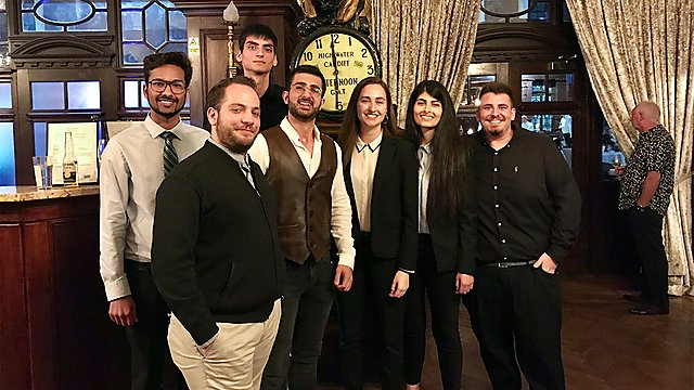 <p>Cardiff shipping dinner 2019</p>