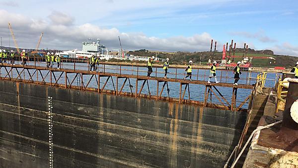 <p>Falmouth Docks visit 2016</p>