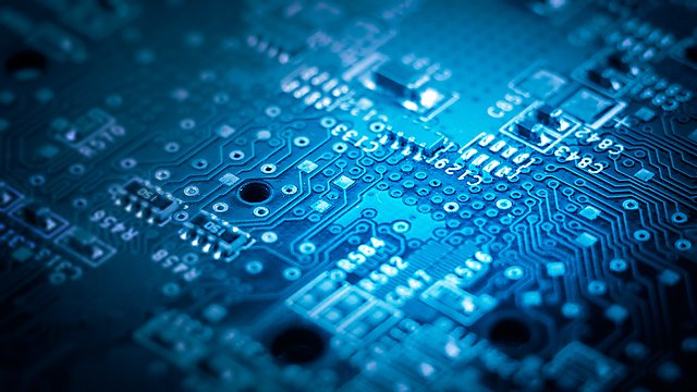 <p>Close-up circuitboard</p>