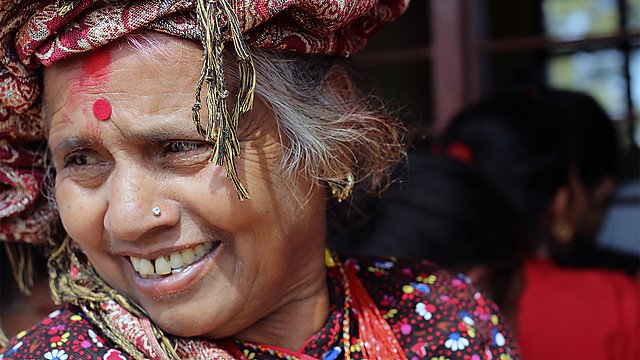 <p>Foot Ulceration Research in Nepal Research - Nepalese woman</p>