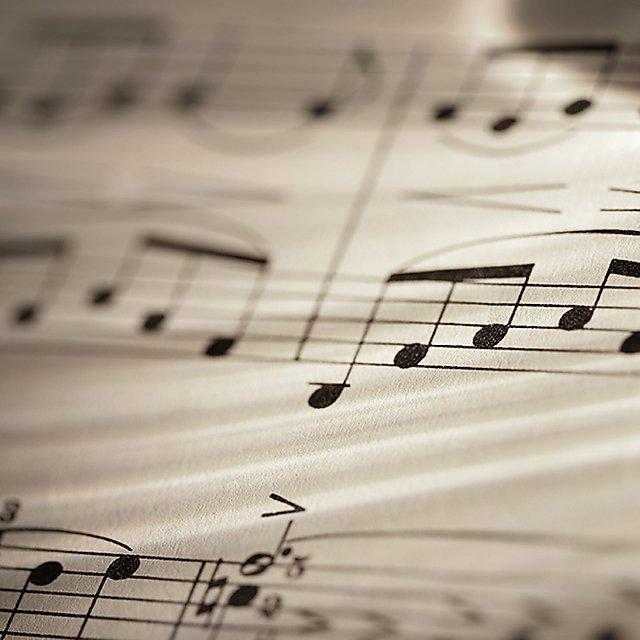 <p>Sheet music</p>