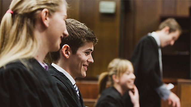 <p>Mooting final 2013 in Plymouth Crown Court<br></p>