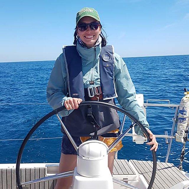 <p>First mate Emmanuelle<br></p>