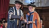 Professor Dame Sally Davies receives her Honorary Doctorate of Medicine