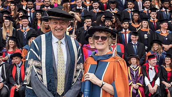 Chief Medical Officer Professor Dame Sally Davies receives Honorary Doctorate