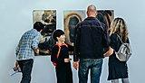 'Fire Paintings' Debra Harris