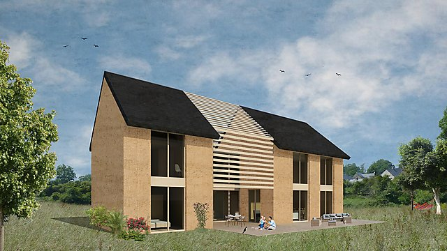 <p>Plans for a house in France to be constructed in CobBauge phase 2</p>