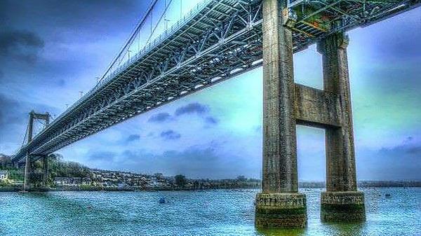 Figure: HDR Image of Tamar Bridge