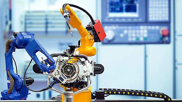 <p>Fabrication robot</p>