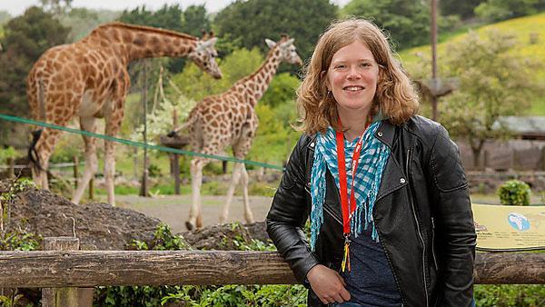 <p>Lauren Florisson,&nbsp;MSc Zoo Conservation Biology graduate<br></p>