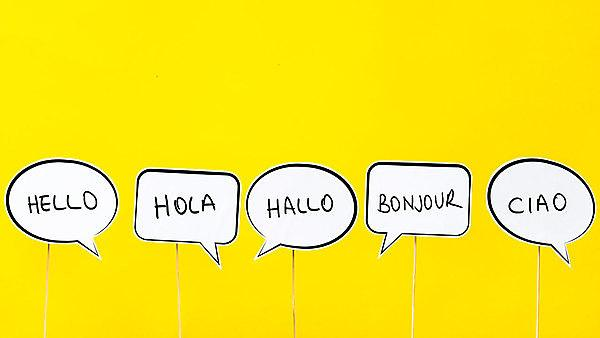 <p>Getty image. languages.&nbsp;Hello in many different languages.</p>