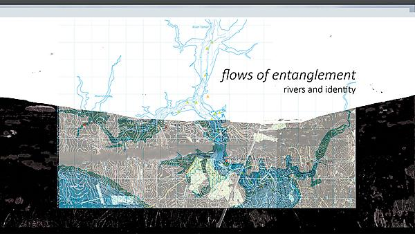 Flows of entanglement: how rivers shape identities