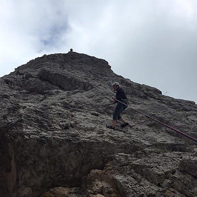 <p>Sophie Ward climbing 2</p>